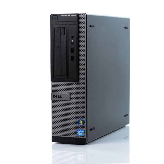 Dell Optiplex 3010 DT I5-3470  / 4GB /120GB SSD+250GB / W10
